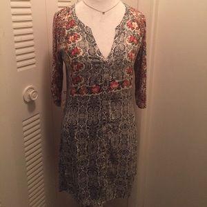 Anthropologie Tiny Perenne shirt dress medium